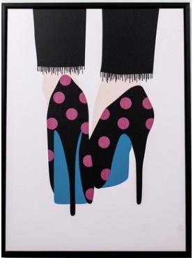 Obraz boty na vysokém podpatku I