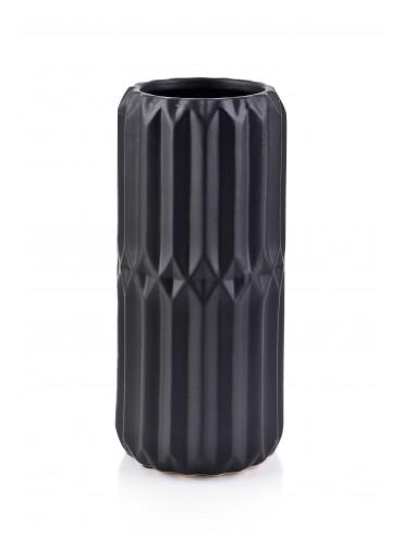 Designová keramická váza Babette černá M