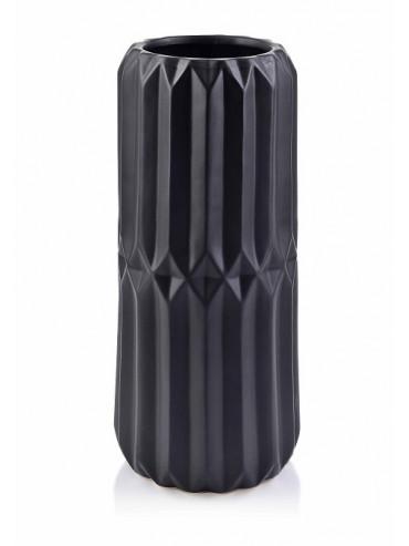 Designová keramická váza Babette černá L