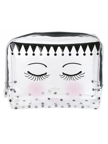 Kosmetická taška puntíky