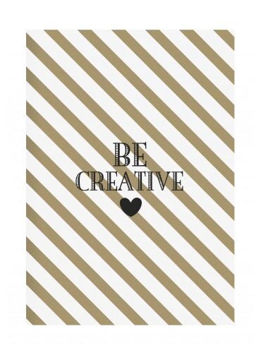 "Sešit ""Be creative"" A4"