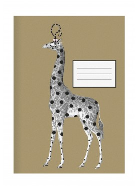 "Designový Sešit ""Žirafa"" A4 Miss Étoile"