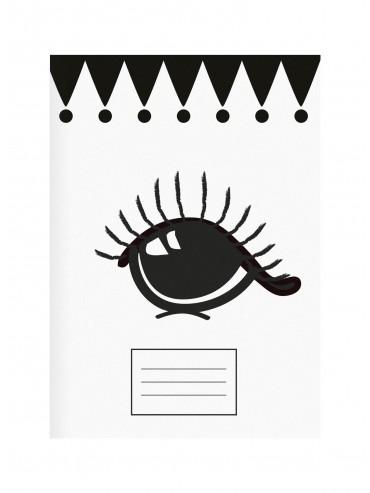 "Sešit ""Big eyes and dots"" set 2ks"