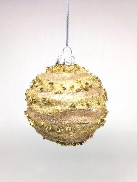 Vánoční baňka Gold