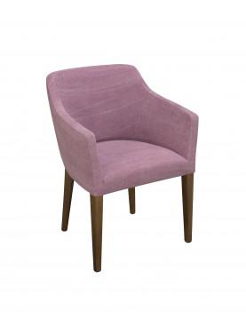 Jídelní židle Isle růžová