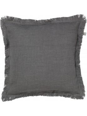 Povlak na polštář Sofia 45x45cm tmavě šedá