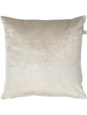 Sametový polštář Cido 45x45cm pískový