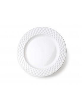 Keramický dezertní talíř Diament 20,5cm