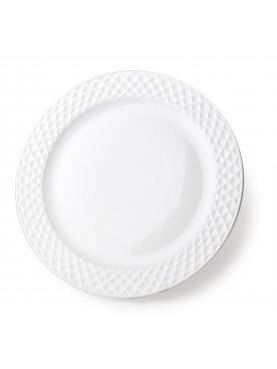 Keramický jídelní talíř Diament 26,5cm