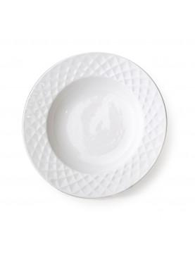 Porcelánový hluboký talíř Diament 20,5cm
