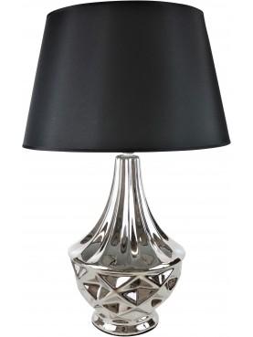 Designová lampa Bohéme stříbrná