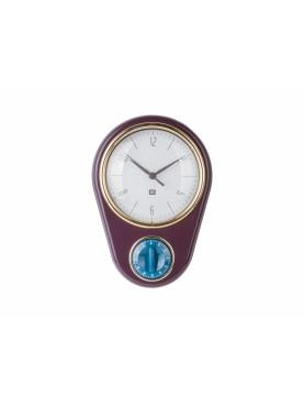 Nástěnné hodiny Retro s minutkou