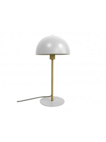 Retro lampa Bonnet bílo - zlatá