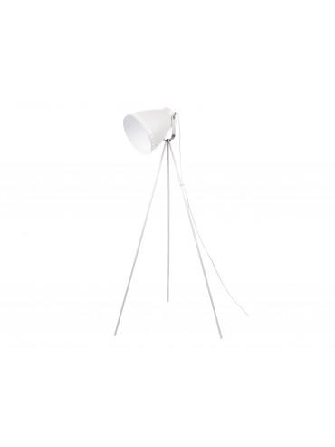 Stojací lampa na trojnožce bílá