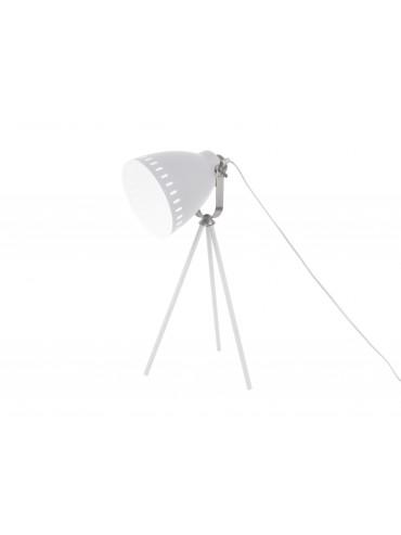Stolní lampa na trojnožce bílá