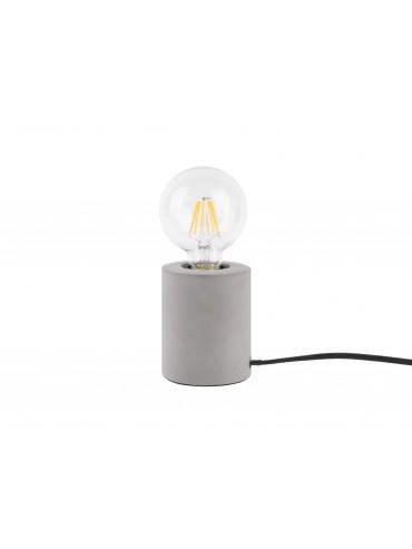 Cementová stolní lampa EDWARD
