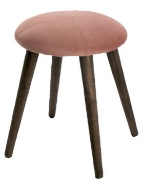 Dřevěná stolička New York starorůžová