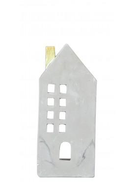 Domeček na svíčku cementový M