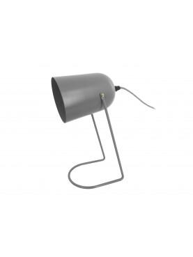 Designová kovová stolní lampa Enchat šedá