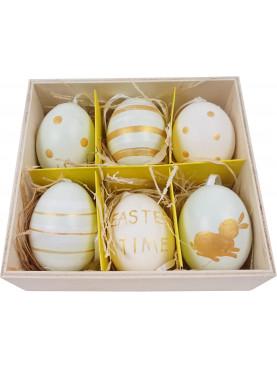 Velikonoční vajíčka 6ks