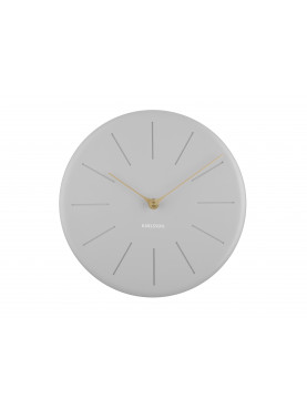 Karlsson Designové hodiny šedé