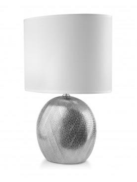 Stolní lampa ELITE stříbrná
