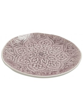 Jídelní talíř Botanic růžový