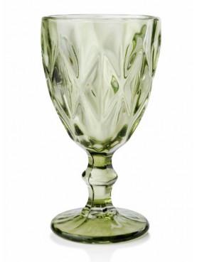 Sklenice na bílé víno ELISE zelená