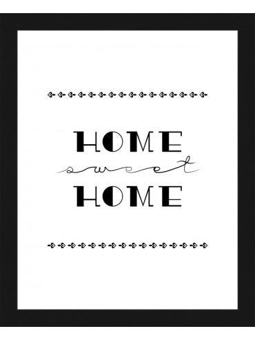 """Rámovaný obraz """"Home sweet Home"""" 20x25cm"""