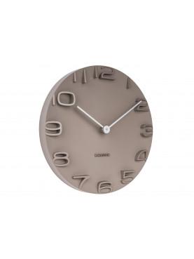 KARLSSON Designové nástěnné hodiny šedé
