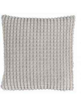 Povlak na polštář Rome 45x45cm světle šedý