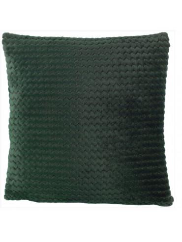 Povlak na polštář Mara 45x45cm tmavě zelený