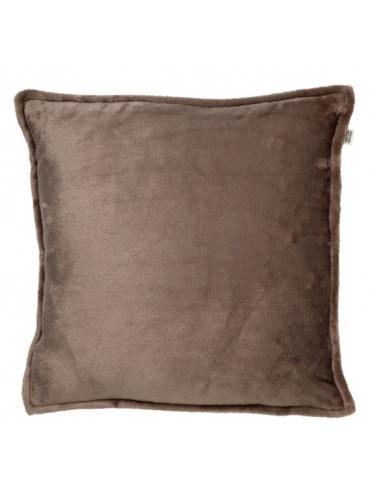 Povlak na polštář Cilly 45x45cm hnědý